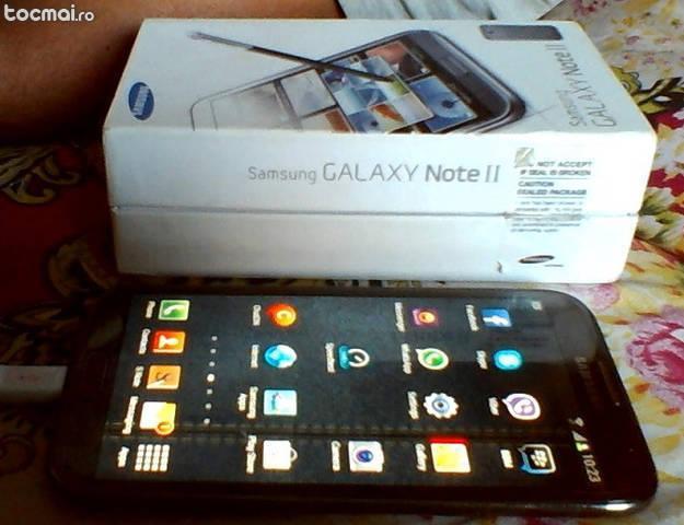 Samsung galaxy note 2 ii n7100 in garantie