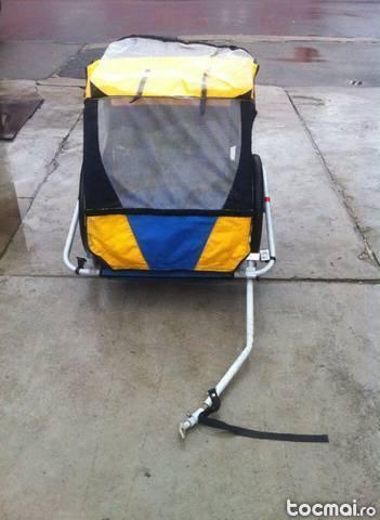 Remorca transport copii pentru bicicleta
